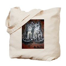 "Tote Bag: ""My Two New Kittens"" by Anne K"