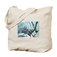 "Tote Bag: ""Cleo and Phoenix."" by Anne K"