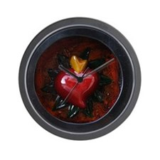 Sacred Heart 11 Wall Clock