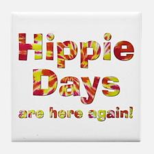 Hippie Days Tile Coaster