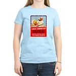 Navy Arise Americans (Front) Women's Light T-Shirt