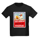 Navy Arise Americans (Front) Kids Dark T-Shirt
