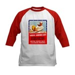Navy Arise Americans (Front) Kids Baseball Jersey