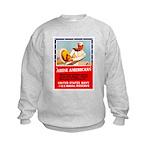 Navy Arise Americans (Front) Kids Sweatshirt