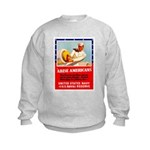 Navy Arise Americans Kids Sweatshirt