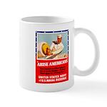Navy Arise Americans Mug