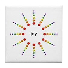 Joy Burst Tile Coaster