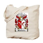 Wadwicz Family Crest Tote Bag