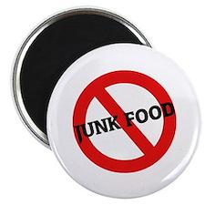 Anti Junk Food Magnet