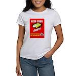 Shut Up Keep Your Trap Shut Women's T-Shirt
