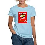 Shut Up Keep Your Trap Shut Women's Light T-Shirt