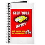 Shut Up Keep Your Trap Shut Journal