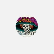 catrina Mini Button