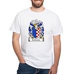 Zabawa Family Crest White T-Shirt