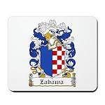 Zabawa Family Crest Mousepad