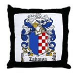Zabawa Family Crest Throw Pillow