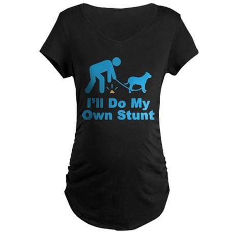 Perro de Presa Canario Maternity Dark T-Shirt