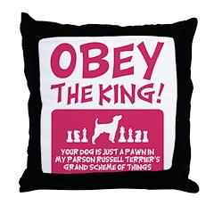 Parson Russell Terrier Throw Pillow