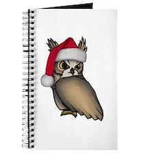 Christmas Owl Journal