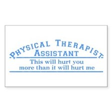 This will hurt - PTA Rectangle Decal
