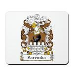 Zaremba Family Crest Mousepad