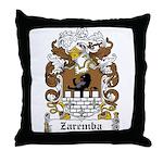 Zaremba Family Crest Throw Pillow