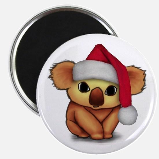 Christmas Koala Magnet