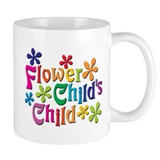 Flower Child's Child Small Mug