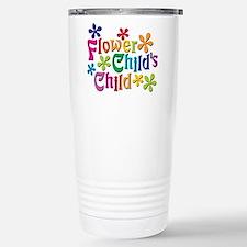 Flower Child's Child Stainless Steel Travel Mug
