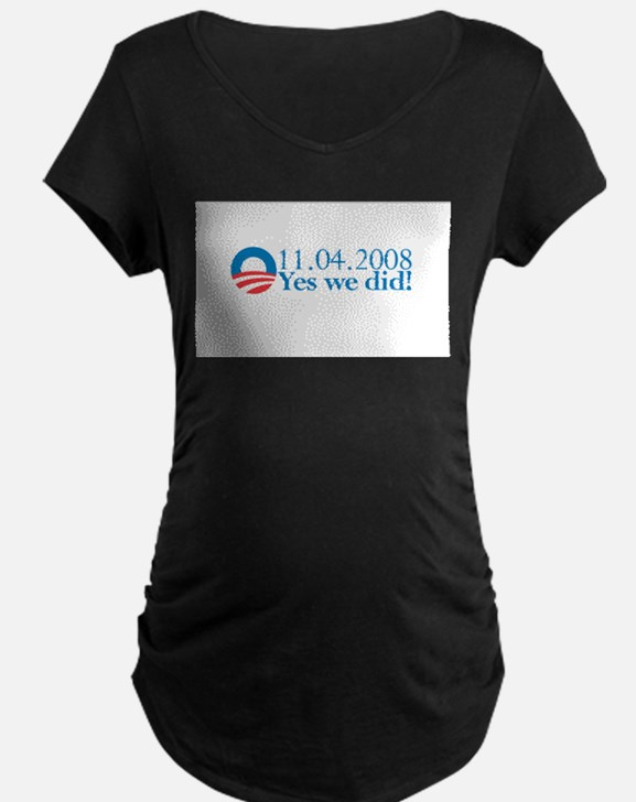 Obama - Yes We Did!!! T-Shirt