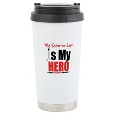 Lung Cancer Hero (Sister-in-Law) Ceramic Travel Mu
