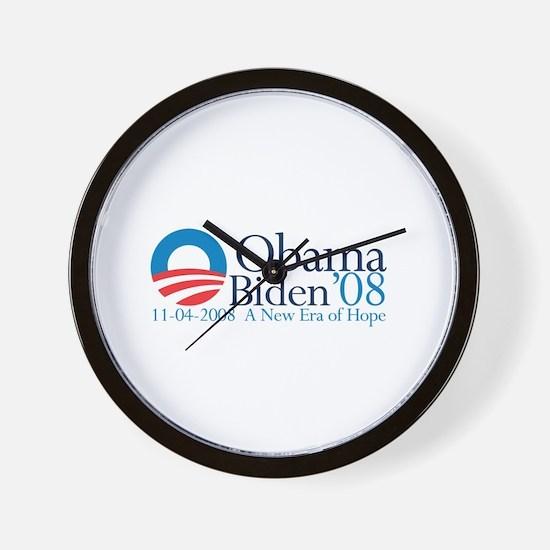 A New Era Of Hope Wall Clock