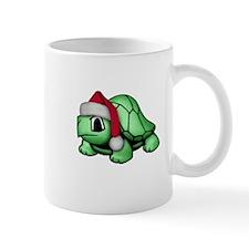 Christmas Turtle Small Mug