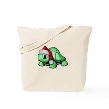 Christmas Turtle Tote Bag