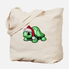 Christmas Turtle Tote Bag