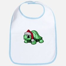 Christmas Turtle Bib
