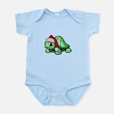 Christmas Turtle Infant Bodysuit