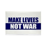 Make Levees, Not War Rectangle Magnet (10 pack)