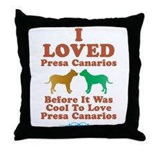 Perro de Presa Canario Throw Pillow