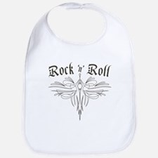 Rock n Roll Stripe Bib