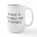 Like we need your support Large Mugs (15 oz)