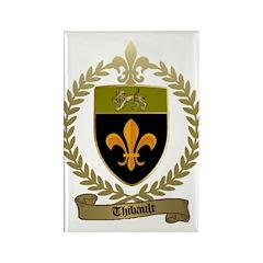 THIBAULT Family Crest Rectangle Magnet