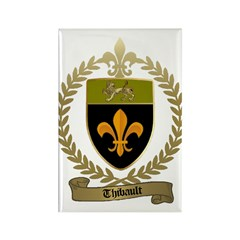 THIBAULT Family Crest Rectangle Magnet (100 pack)