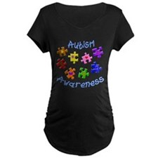 Autism Awareness Maternity T-Shirt