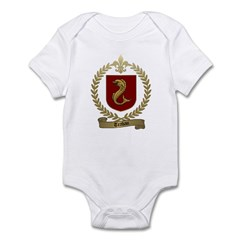 TRAHAN Family Crest Infant Creeper