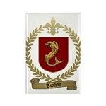 TRAHAN Family Crest Rectangle Magnet (100 pack)