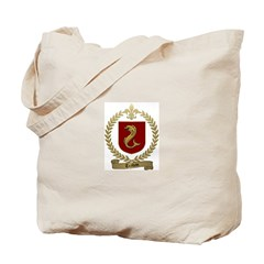 TRAHAN Family Crest Tote Bag
