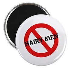 Anti-Hairy Men Magnet