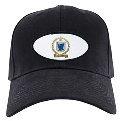 TREMBLAY Family Crest Black Cap