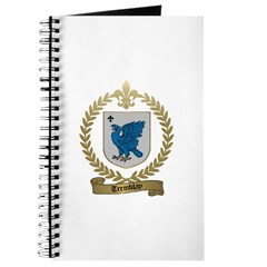 TREMBLAY Family Crest Journal
